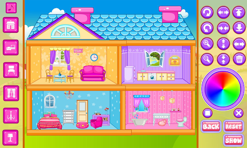 Free Doll House Decoration 1