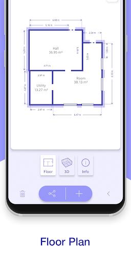 ARPlan 3D: Tape Measure, Ruler, Floor Plan Creator screen 2