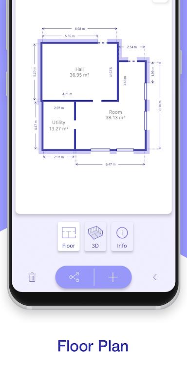 ARPlan 3D: Tape Measure, Ruler, Floor Plan Creator poster 2