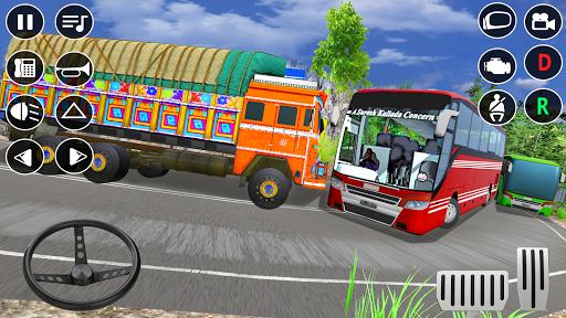 Indian Truck Modern Driver: Cargo Driving Games 3D apktram screenshots 5