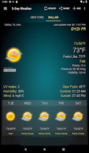 Weather & Clock Widget for Android 6.3.1.2 Screenshots 10