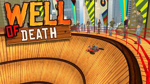 Télécharger Well Of Death Bike Stunt Rider mod apk screenshots 2