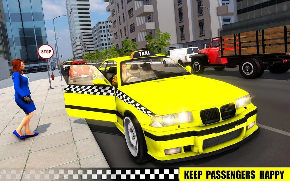 Screenshot 16 de simulador de aparcamiento de taxis 3D de varias para android