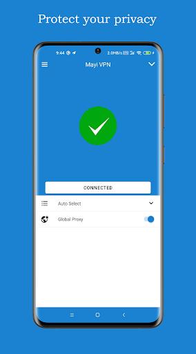 Mayi VPN - Free, Fast & Secure VPN proxy 235 Screenshots 3