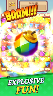 Jewels and Gems Blast: Fun Match 3 Puzzle Game