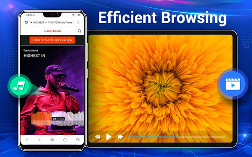 Web Browser & Web Explorer android2mod screenshots 9