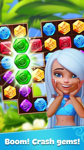Gemmy Lands: New Match 3 Games 2021 to Crush Gems  Screenshots 3