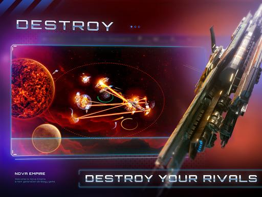Nova Empire: Space Commander Battles in Galaxy War  Screenshots 1