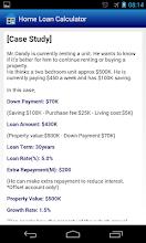 Home loan calculation screenshot thumbnail