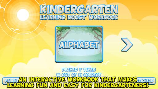 Kindergarten - Learning Boost Workbook  screenshots 1