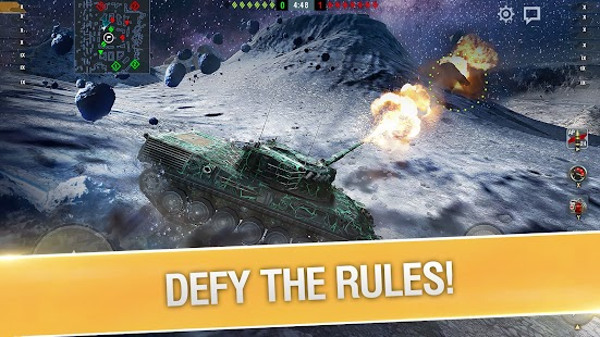 World of Tanks Blitz PVP MMO 3D tank game for free Screenshot