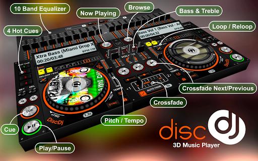 DiscDj 3D Music Player - 3D Dj Music Mixer Studio  Screenshots 11
