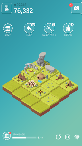Age of 2048u2122: Civilization City Merge Games  screenshots 1