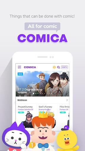 COMICA – Free Webtoon Comic 1.9.1 screenshots 1