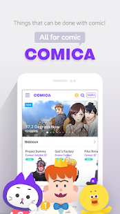 COMICA u2013 Free Webtoon Comic 1.9.1 Screenshots 1