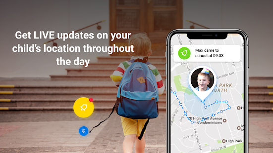 Find My Kids: Child Cell Phone Location Tracker Screenshot