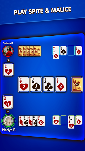 Spite & Malice - Play Solitaire Free Variations  screenshots 2