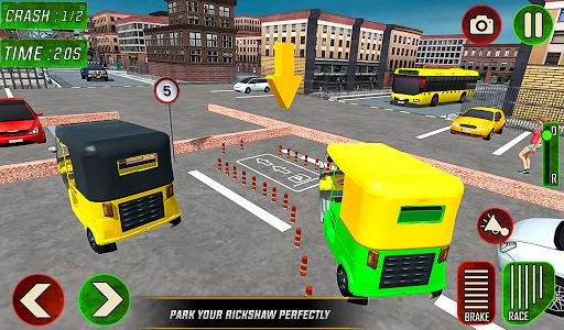 Tuk Tuk Auto Rickshaw Driver 2019:City Parking 1.5 screenshots 16