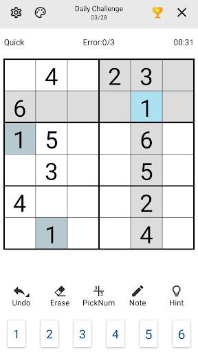 Sudoku 1.4.5 screenshots 2