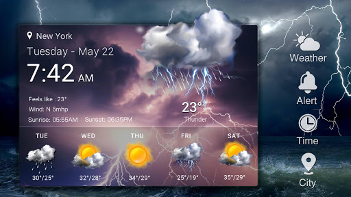 Real-time weather forecasts 16.6.0.6325_50165 Screenshots 11
