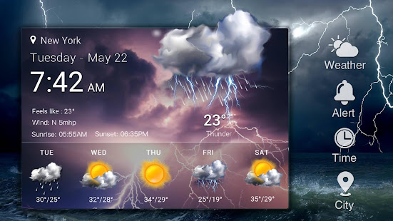 Real-time weather forecasts 16.6.0.6365_50185 Screenshots 11