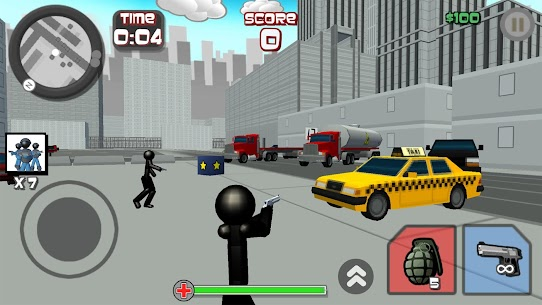 Stickman City Shooting 3D For Pc – Free Download For Windows 7, 8, 10 And Mac 1