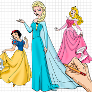How to Draw Princess cute Drawing