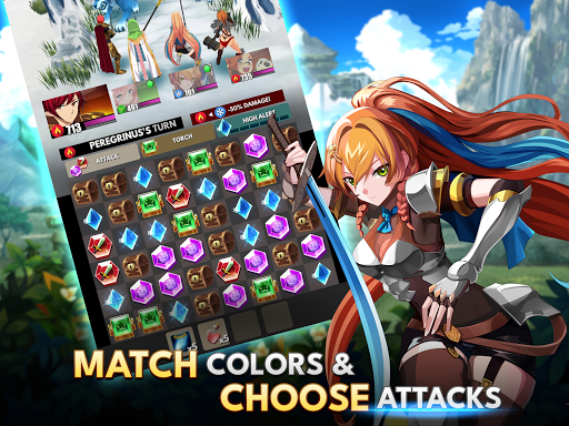 Starsteel Fantasy - Puzzle Combat  screenshots 15