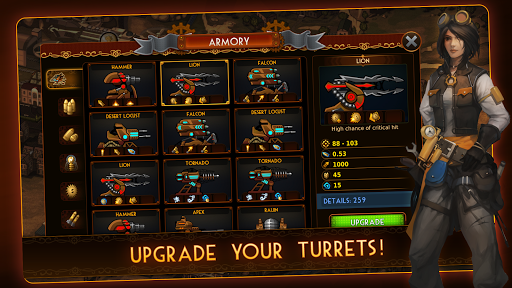 Steampunk Tower 2: The One Tower Defense Strategy screenshots 6