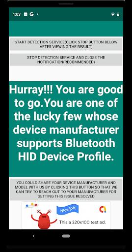 Foto do Bluetooth HID Device Profile Compatibility Checker