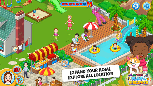 My Town : Play & Discover Pretend Play Kids Game  screenshots 4