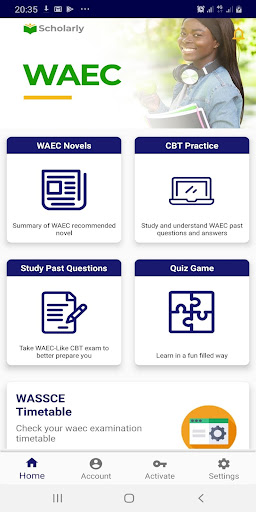 WAEC - Past Questions and Answers (Scholarly)  screenshots 1