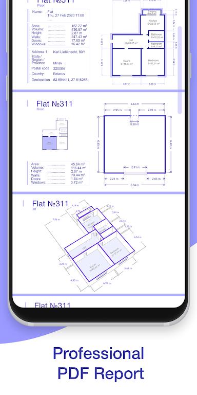 ARPlan 3D: Tape Measure, Ruler, Floor Plan Creator poster 4