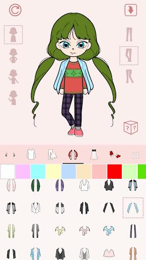 My Webtoon Character Girls - K-pop IDOL Maker  screenshots 5
