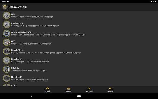 ClassicBoy Gold (64-bit) Game Emulator  screenshots 9