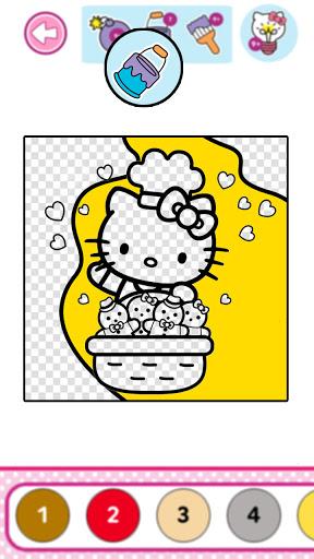 Hello Kitty Coloring Book  screenshots 21