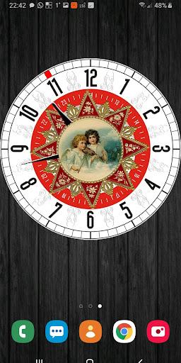 christmas clockfaces pro for battery saving clocks screenshot 1