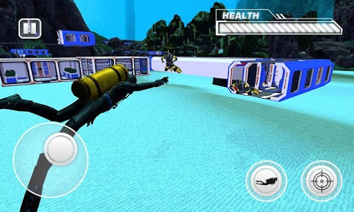 Secret Agent Scuba Diving Underwater Stealth Game 1.4 MOD Apk Download 1