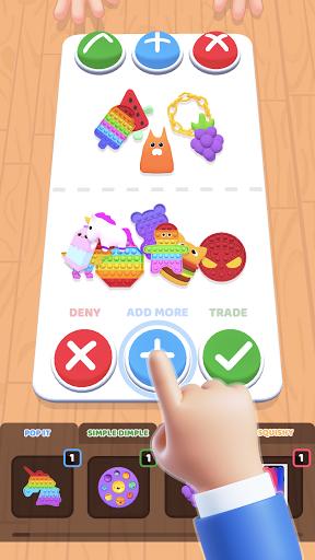 Fidget Toys Trading: fidget trade relaxing games apkdebit screenshots 4
