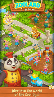 Farm Zoo: Happy Day in Animal Village and Pet City 1.40 Screenshots 4
