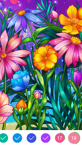 Coloring Book - Color by Number & Paint by Number 1.7.6 screenshots 4