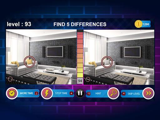 Spot 5 Differences 1000 levels 1.6.8 screenshots 14