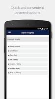 screenshot of Jet Airways