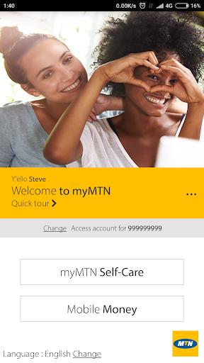 MyMTN  Screenshots 1