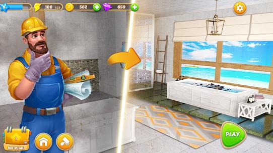 Merge Home  – Design Dream – Decor Mansion Mod Apk 1.0.5 (Lots of Money) 8