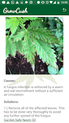 GrowCush - Cannabis deficiency detection .APK Preview 7
