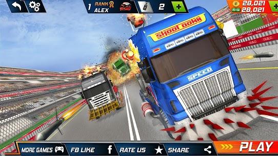 Semi Truck Crash Race 2021: New Demolition Derby 7