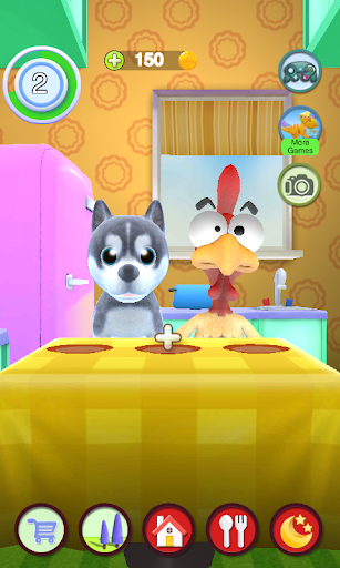 Talking Puppy And Chick 1.30 screenshots 7