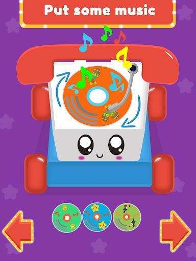 Baby Carphone Toy. Kids game  screenshots 11