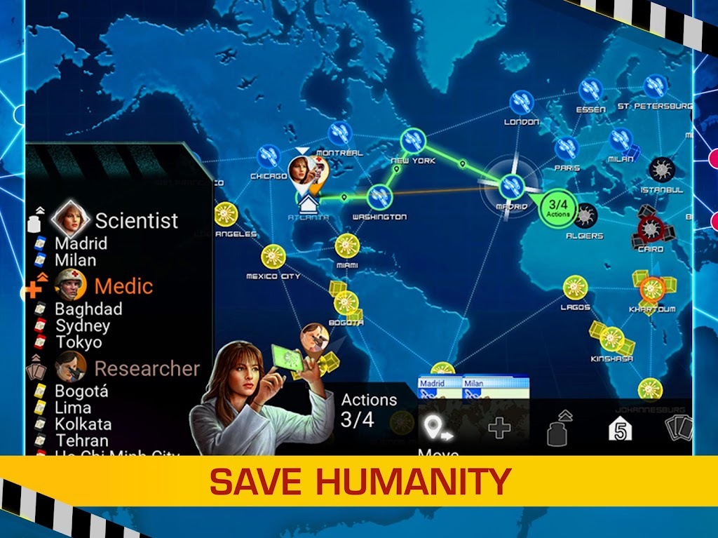 Pandemic: The Board Game  poster 13